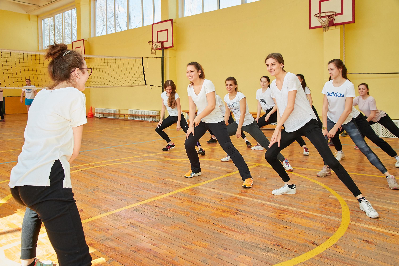 Физкультура в школе в картинках